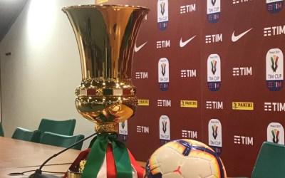 Día, hora y encuentros de los 1/4 de final de Coppa Italia