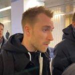 Eriksen ya está en Milán para firmar con el Inter