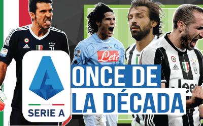 El XI de la década en la Serie A
