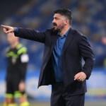 Gattuso: «El Napoli tiene que mostrarse insaciable»