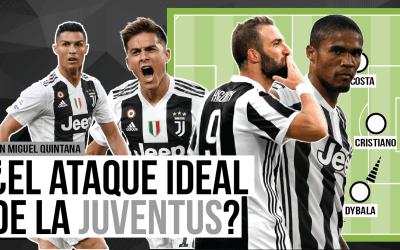 ¿Cuál sería el ataque perfecto de la Juventus?
