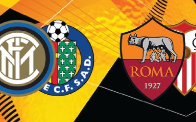 Sorteo Europa League I Inter vs Getafe y Roma vs Sevilla