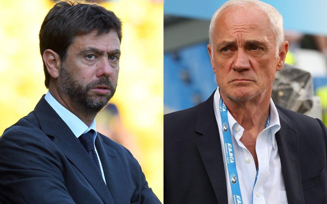 Agnelli llama al presidente de la Atalanta para aclarar sus palabras