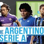 Los mejores argentinos de la historia de la Serie A