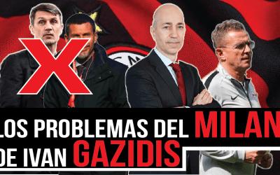 Los problemas del Milan de Gazidis