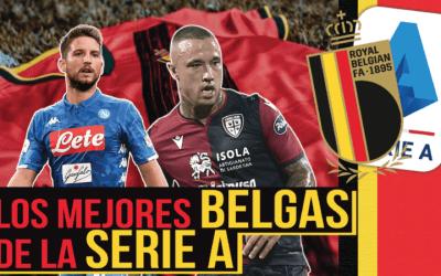 Los mejores futbolistas belgas de la Serie A