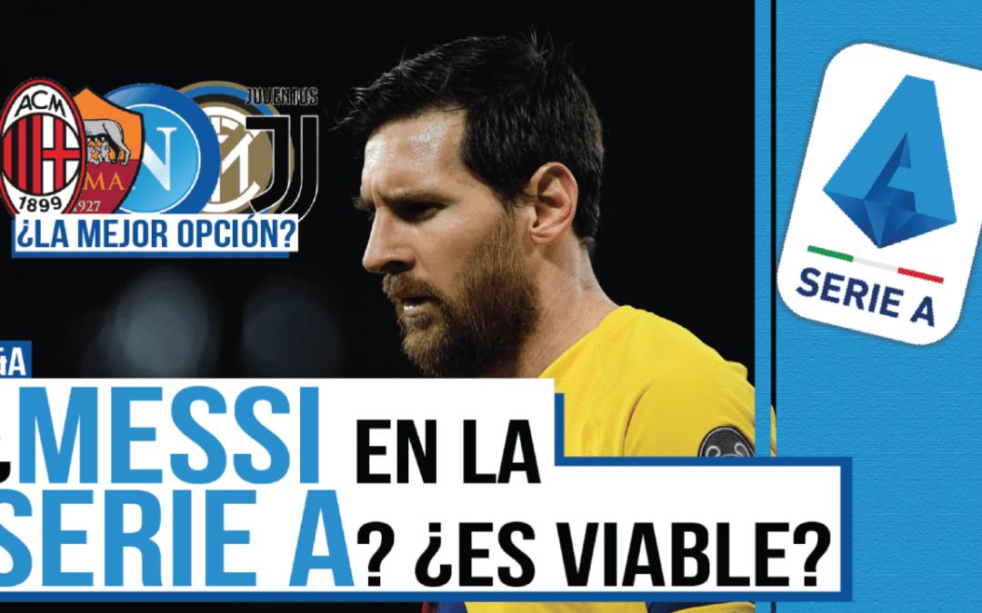 ¿Es posible que Messi fiche por un equipo de la Serie A…?