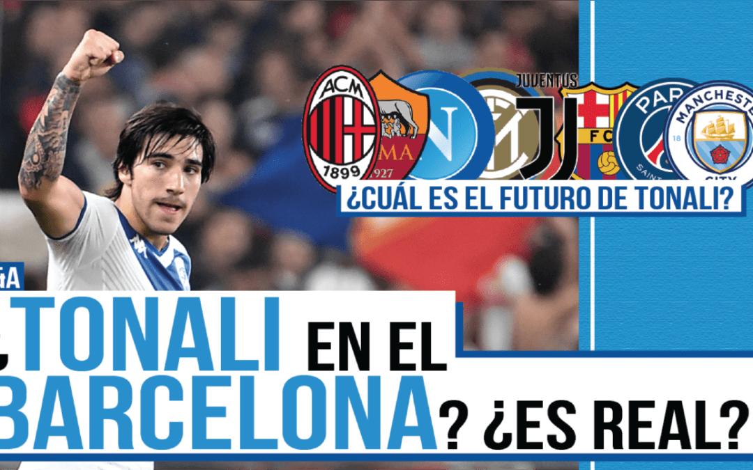 ¿Sandro Tonali y el Barcelona? ¿Encajaría?