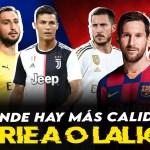 Serie A vs LaLiga: ¿En qué liga hay más calidad?