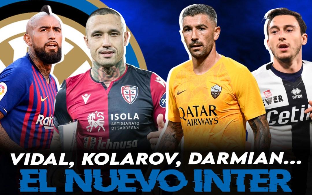 Los nuevos veteranos del Inter: Arturo Vidal, Kolarov…