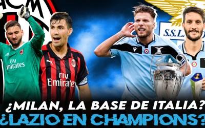 ¿Puede ser el Milan la base de la selección italiana…?