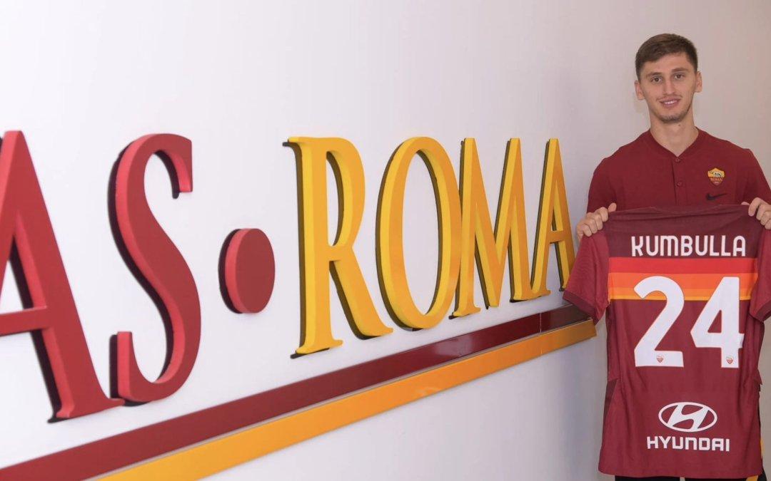 OFICIAL: La Roma refuerza la defensa con Marash Kumbulla