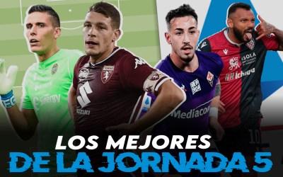 Lo mejor de la jornada 5 en la Serie A 2020/21