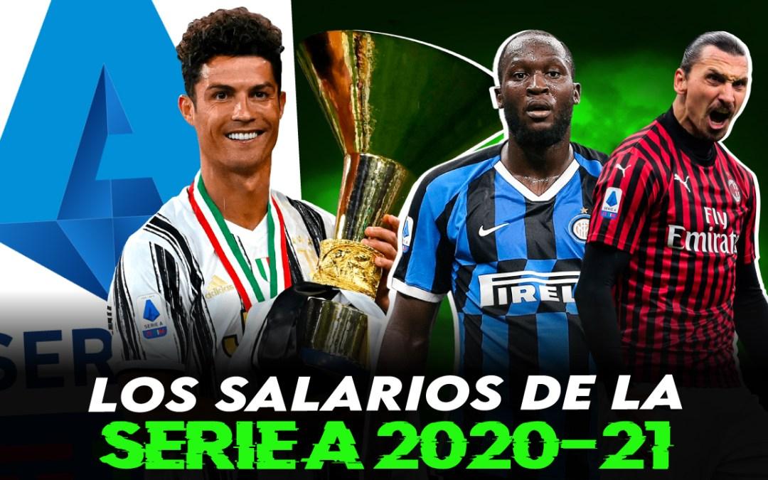 Los salarios de la Serie A 2020/21: ¿cuánto cobran los jugadores en Italia?