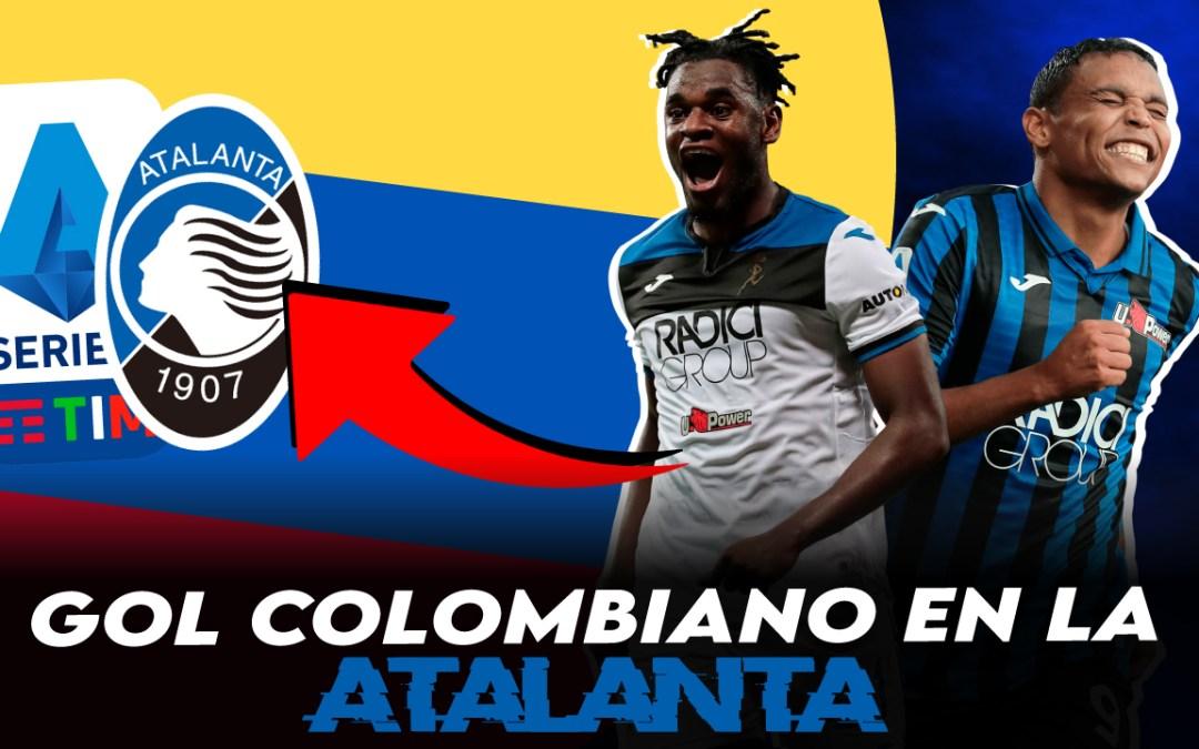 Goles colombianos en la Atalanta: Luis Muriel y Duván Zapata