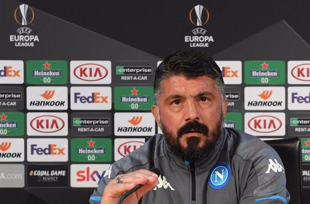 Gattuso y el Napoli quieren ganar la Europa League