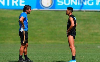 Conte: «¿Alexis lesionado? Hablaré con él para ver si juega el Derby»