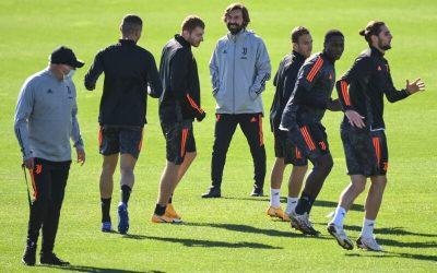 Bonucci y Cristiano no entrenan con el grupo en la previa del Barcelona