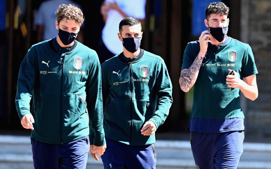 Positivos por Covid-19 en la selección Sub21 de Italia: uno es Bastoni