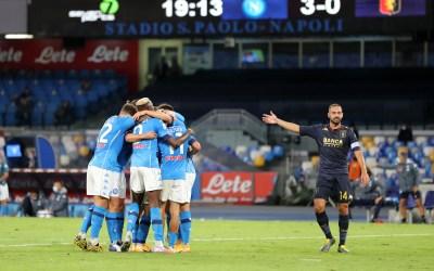 El Napoli recurre al TAS la derrota ante la Juventus por 3-0