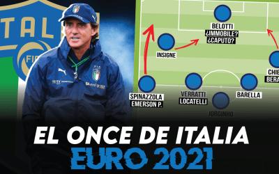 ¿Cómo jugará Italia en la Eurocopa 2021…?