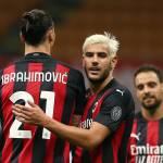 Zlatan Ibrahimovic y Theo Hernández apuntan al domingo contra el Sassuolo