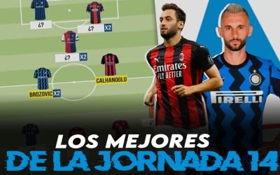 Lo mejor de la jornada 14 de la Serie A 2020/21