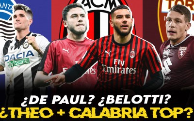 Consultorio: ¿Theo – Calabria son top mundial? ¿De Paul a la Atalanta?
