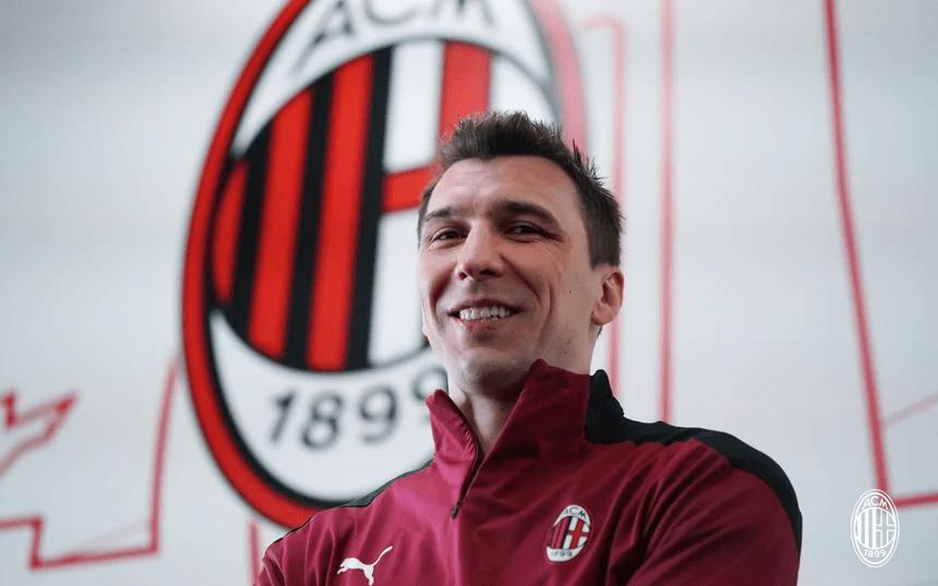 Mandzukic se presenta: «El Milan satisface mis ambiciones»