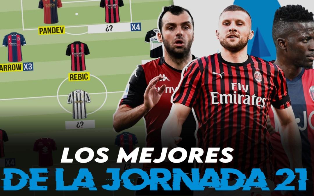Lo mejor de la jornada 21 de la Serie A 2020/21