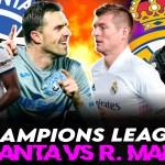 La previa del Atalanta vs Real Madrid en Champions League