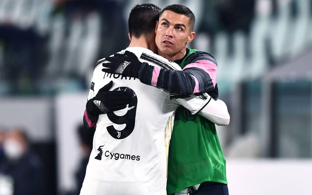 Morata sobre Cristiano: «Juego con el mejor delantero de la historia»