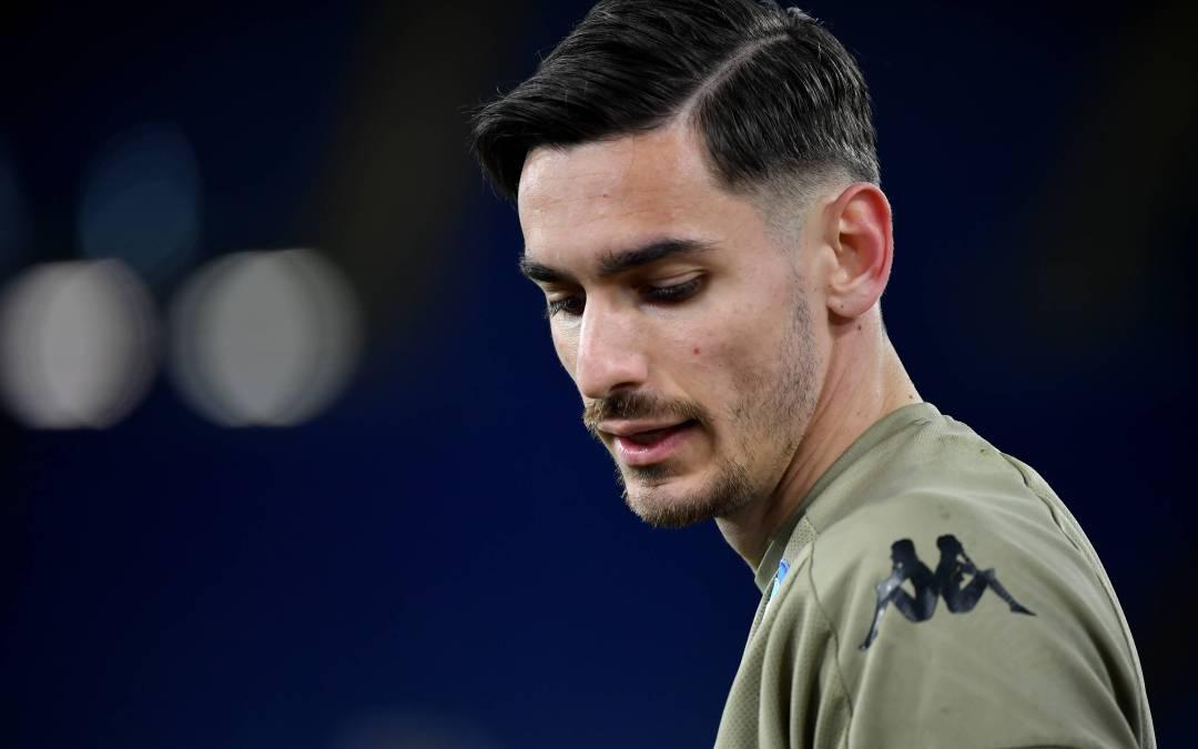 Alex Meret estará un mes de baja con el Napoli