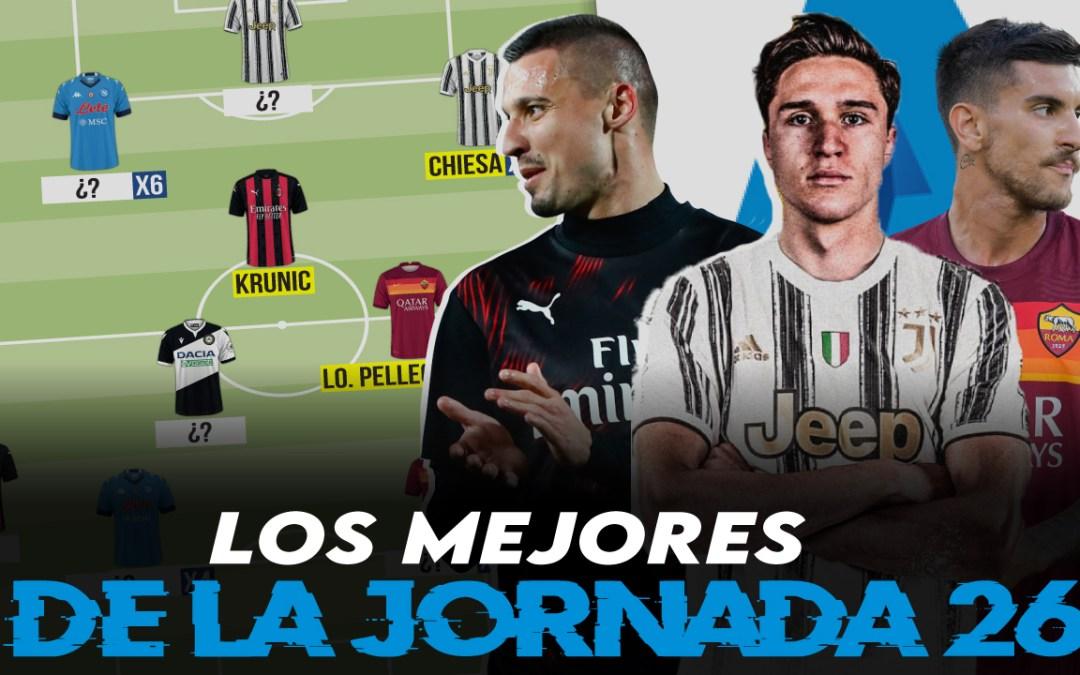 Lo mejor de la jornada 26 de la Serie A 2020/21