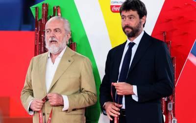 La bronca de Agnelli con los presidentes de la Serie A