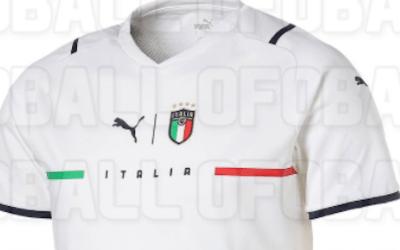 Se filtra la posible camiseta de Italia para 2021