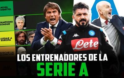 Tiermaker: Los entrenadores de la Serie A 2020/21