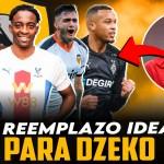 El reemplazo ideal para Dzeko en la Roma de Mourinho