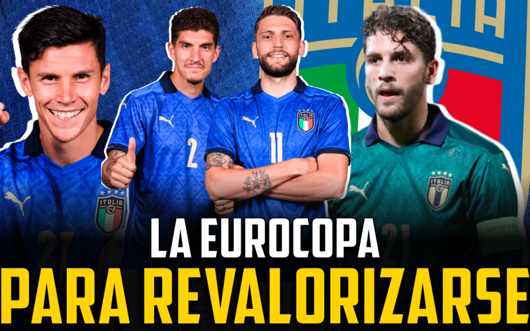 Los jugadores italianos que más brillan en la Eurocopa