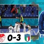 El análisis del Turquía 0-3 Italia: Insigne, Spinazzola y Berardi brillan