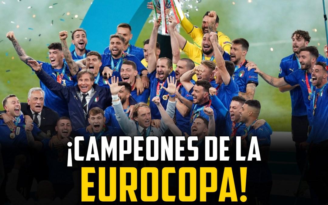 Italia gana la Eurocopa: la primera reacción al título del Calcio