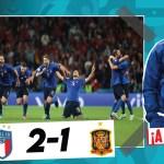 El análisis del Italia vs España de la Eurocopa