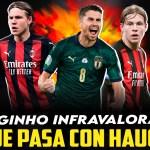 ¿Qué pasa con Hauge en el Milan? ¿Jorginho infravalorado?