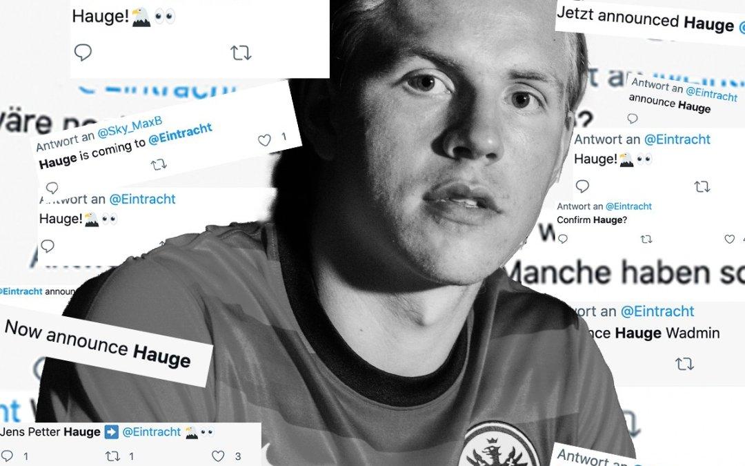 OFICIAL: El Milan vende al Eintracht a Hauge