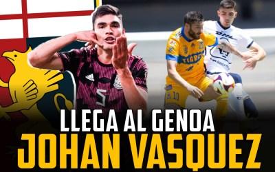 El Genoa ficha a Johan Vásquez: ¿Cómo encajará el mexicano?
