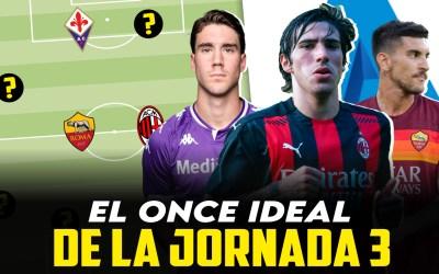 El once ideal de la jornada 3 en la Serie A