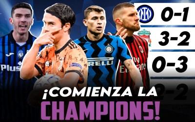 El análisis de la Champions League para los equipos italianos