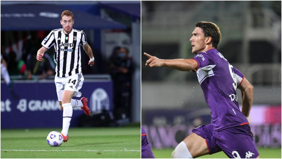 ¿Juventus y Fiorentina valoran un intercambio Kulusevski – Vlahovic?