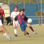 No te pierdas las imágenes inéditas de Leo Messi en el Cadete