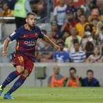 Las pruebas confirman que Jordi Alba se perderá las Supercopas